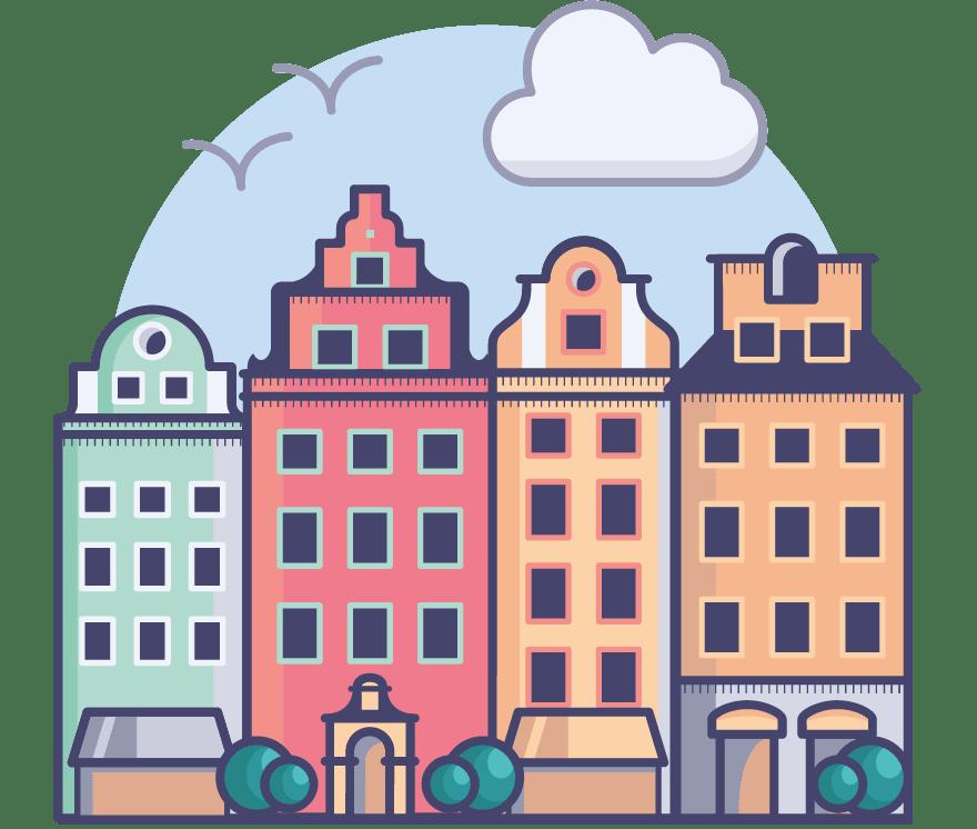 Najlepszych 15 Kasyno na żywos w Szwecja w roku 2021